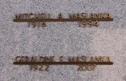 Geraldine E Maslanka