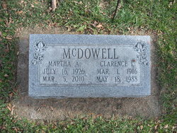 Clarence L McDowell