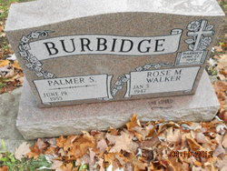 Palmer S Burbidge