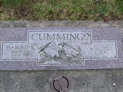 Harold E Cummings