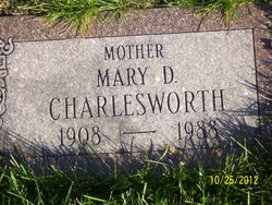 Mary Dean <I>McFall</I> Charlesworth