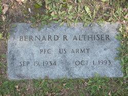 """Bernard R """"Bud"""" Althiser"""