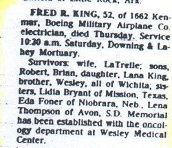 Fred Robert King