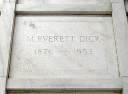 M. Everett Dick