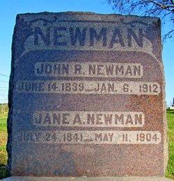 Jane A <I>McDonald</I> Newman