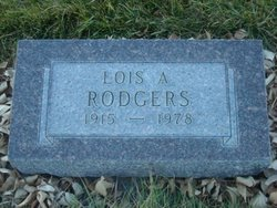 Lois A Rodgers