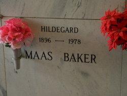 Hildegard <I>Maas</I> Baker