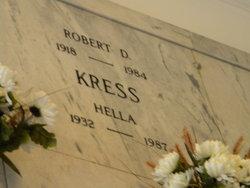 Robert D Kress