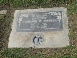 Geraldine M. Johnson