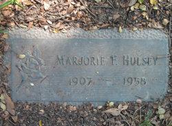Marjorie Faye <I>Oswald</I> Hulsey