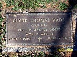 PFC Clyde Thomas Wade