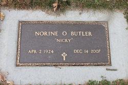 "Norine O ""Nicky"" Butler"