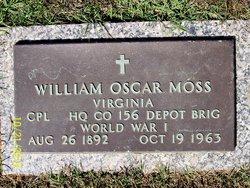 Corp William Oscar Moss