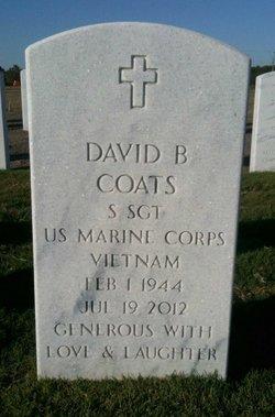 David B Coats