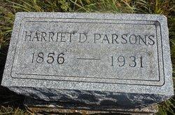 Harriet <I>Dearborn</I> Parsons