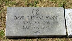 Dave Thomas Wann