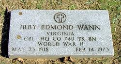 Irby Edmond Wann