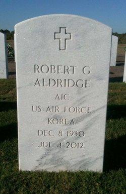 Robert G Aldridge