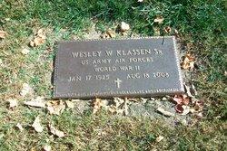Wesley W Klassen, Sr