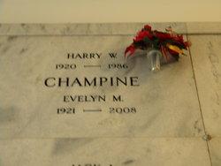 Harry W Champine