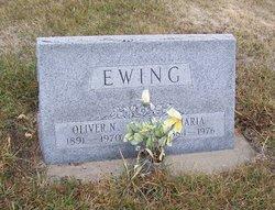 """Maria """"Mary"""" <I>Roalson</I> Ewing"""