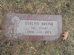 Evelyn <I>Stuart</I> Brunk