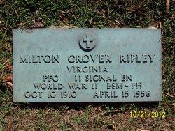 PFC Milton Grover Ripley