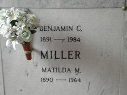 Matilda M. <I>Harder</I> Miller