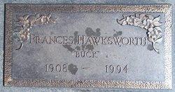 "Frances ""Buck"" Hawksworth"