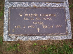 W Wayne Cowder
