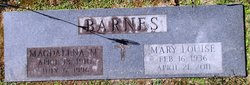 Magdallena M Barnes