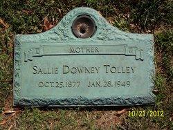 Sallie Margaret <I>Downey</I> Tolley