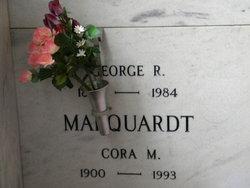 Cora M <I>Frazher</I> Marquardt