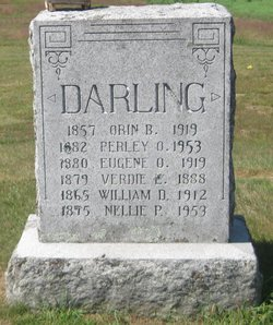 Nellie P <I>Knowles</I> Darling