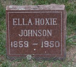Ella Margaret <I>Hoxie</I> Johnson