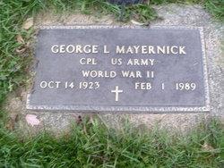 George L Mayernick