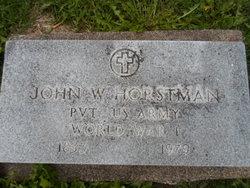 John W. Horstman