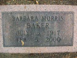 Mary Barbara <I>Morris</I> Baker