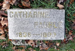 Catharine <I>Franks</I> Fauble