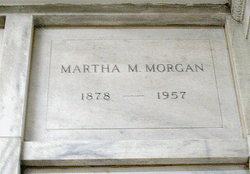 Martha M. Morgan