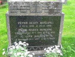 Gina <I>Homlong</I> Holsen