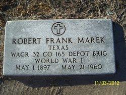 Robert Frank Marek