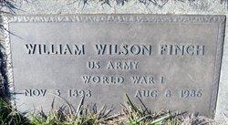 """William Wilson """"Billy"""" Finch"""