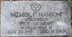 Palmer C Hanson