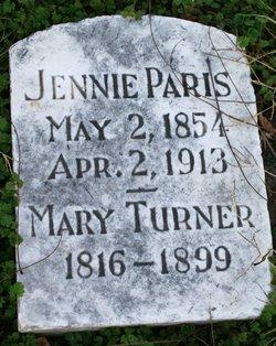 """Virginia """"Jennie"""" Paris"""