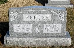 Fayetta <I>Hollowbush</I> Yerger