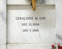 Geraldine M. <I>Kelly</I> Foy