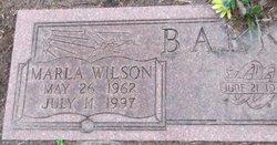 Marla Wilson Barnes