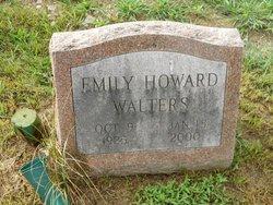 Emily <I>Howard</I> Walters