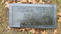 Emma Cornelia <I>Tice</I> Doane